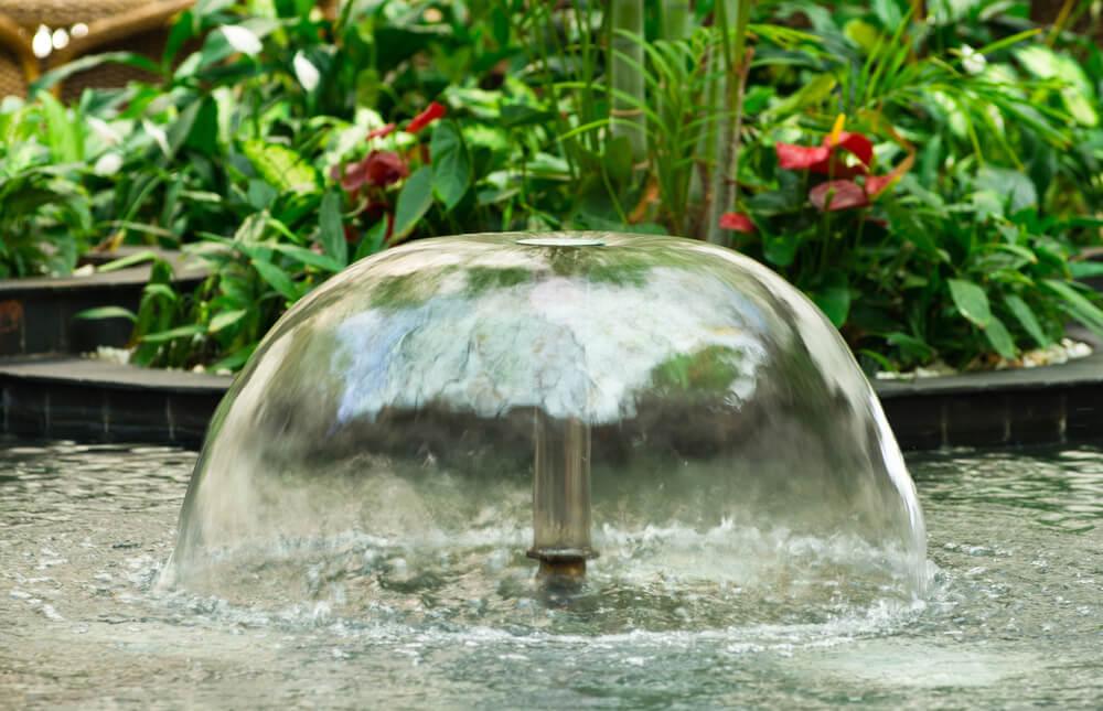 Najczęstsze awarie fontanny ogrodowej